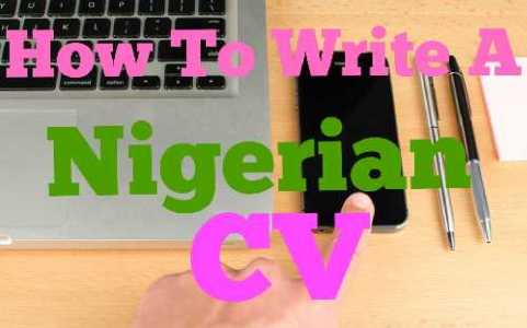 How To Write A Good Nigerian CV 2019 + Latest Format - Hot Vibes Media
