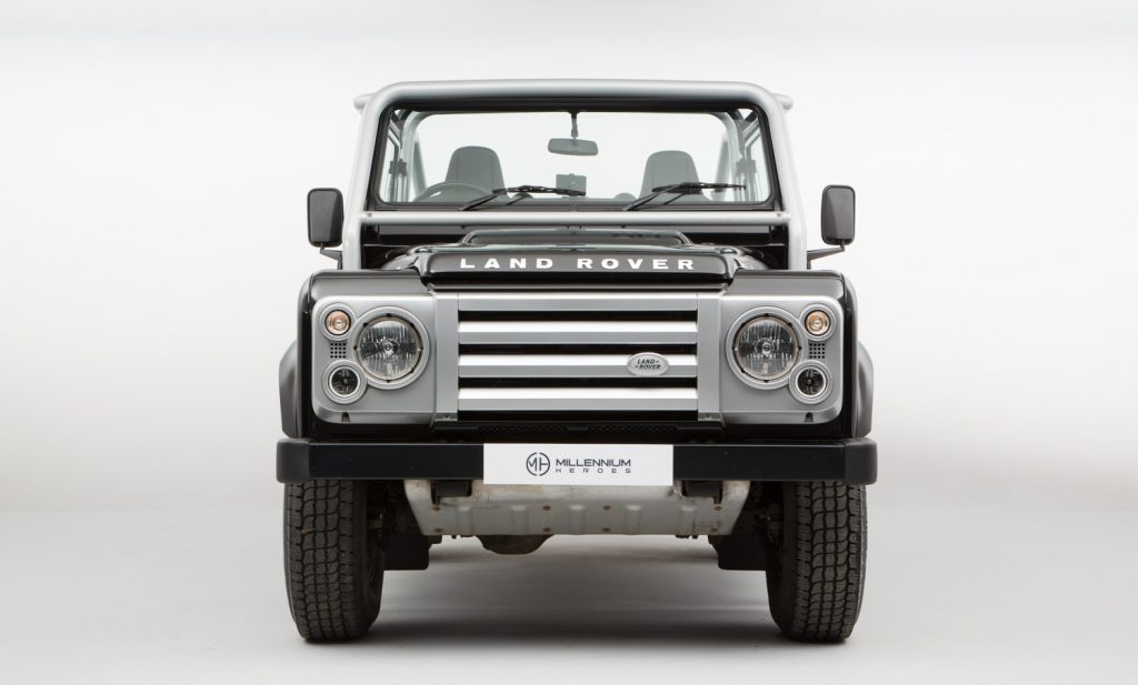CLASSICS FOR SALE: 2009 LAND ROVER DEFENDER 90 SVX