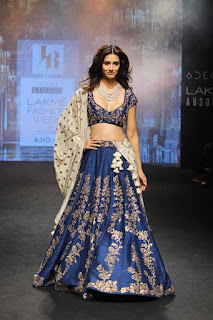Disha Patani at Lakme Fashion Week 2017