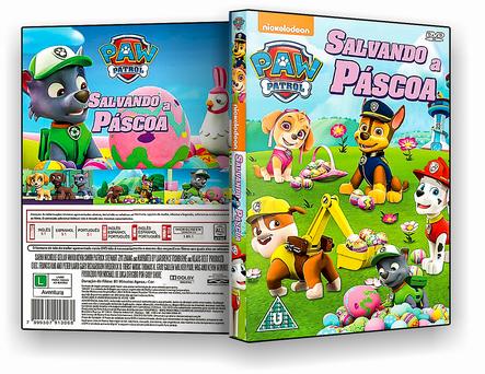 CAPA DVD – Paw Patrol Sanvando A Pascoa – ISO