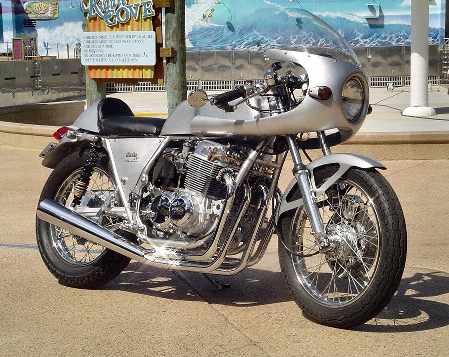honda cb four 750 cafe racer kgcycles new design. Black Bedroom Furniture Sets. Home Design Ideas