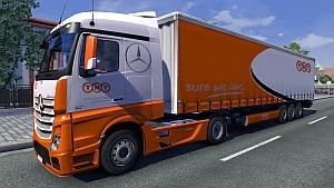 TNT trailer + skin for Mercedes MPIV