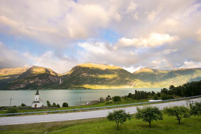 Panorama da Nes Gard-Hoyheimsvik