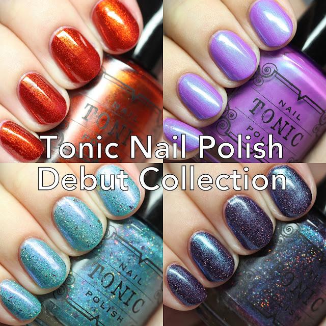 Tonic Nail Polish Debut Collection