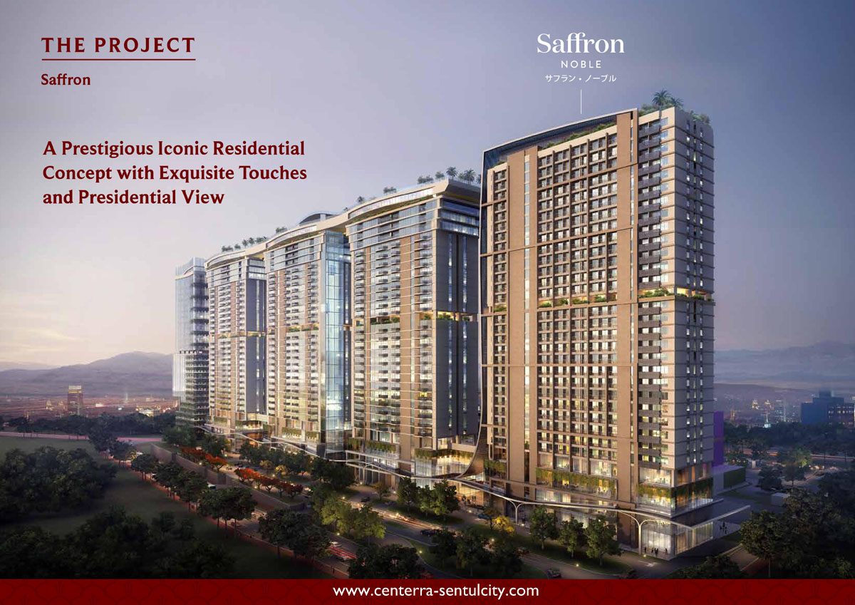 Saffron Noble Sentul City Apartment Residential