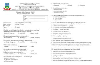 Soal UAS IPS Kelas 2 Semester 1