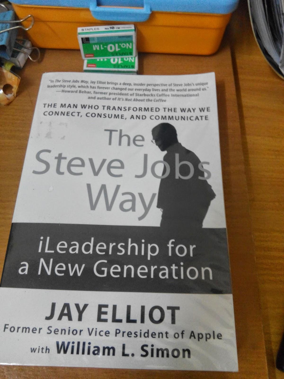 The Steve Jobs Way Book