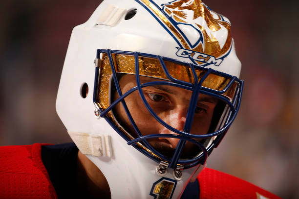 I Love Goalies Roberto Luongo 2017 18 Mask