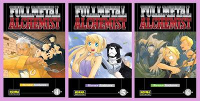 portadas fullmetal alchemist