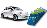 Logo Concorso ''Vinci con Farmaè'' : in palio 2.600 Card da 3€ fino a 50€ e 1 Fiat 500
