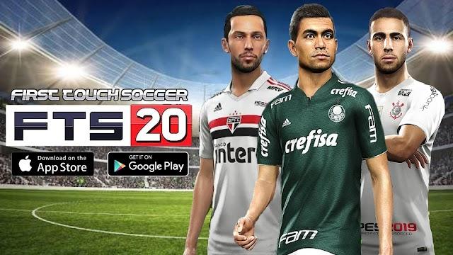 Saiu Agora!! Fts 20 Com Brasileirão e Europeu Atualizado - Faces e Kits 19/20, Para Android