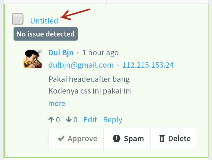 Cara Mengatasi Komentar Disqus Untitled Setelah Mengaktifkan HTTPS Pada Blog AMP Dan Non AMP