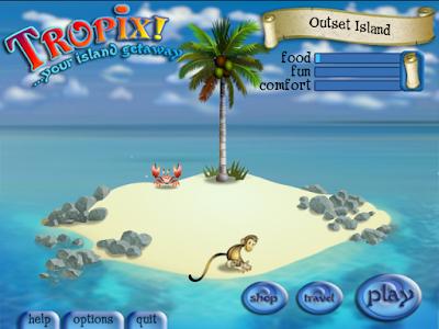 猴島大冒險(Tropix),結合模擬建設與益智養成!