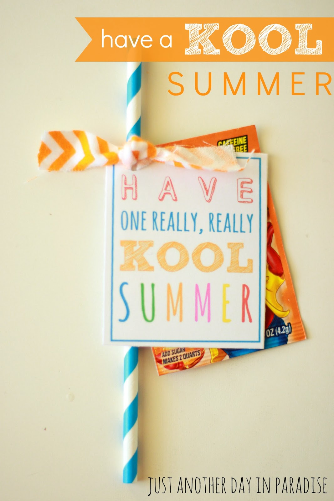 graphic relating to Have a Kool Summer Printable named Larissa Yet another Working day: Incorporate a \