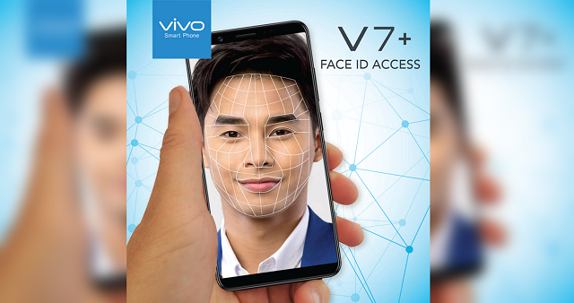 Vivo V7+ Philippines Face ID