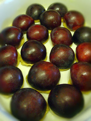 Plums and Marzipan