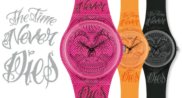 swatch the time never dies