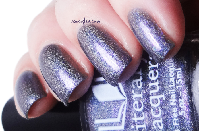 xoxoJen's swatch of Literary Lacquers Lurid Fog