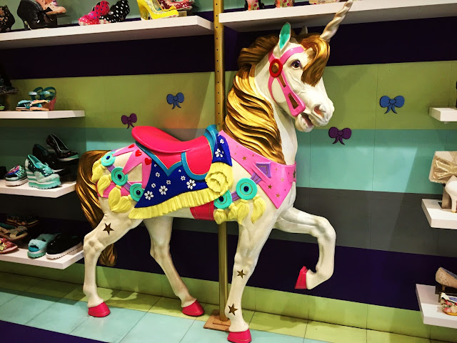 Irregular Choice, Carousel Horse, London, Carnaby Street, Pretty Horse