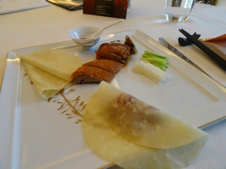 4 ème plat restaurant chinois Family Li Impérial Cuisine Paris 8 ème.