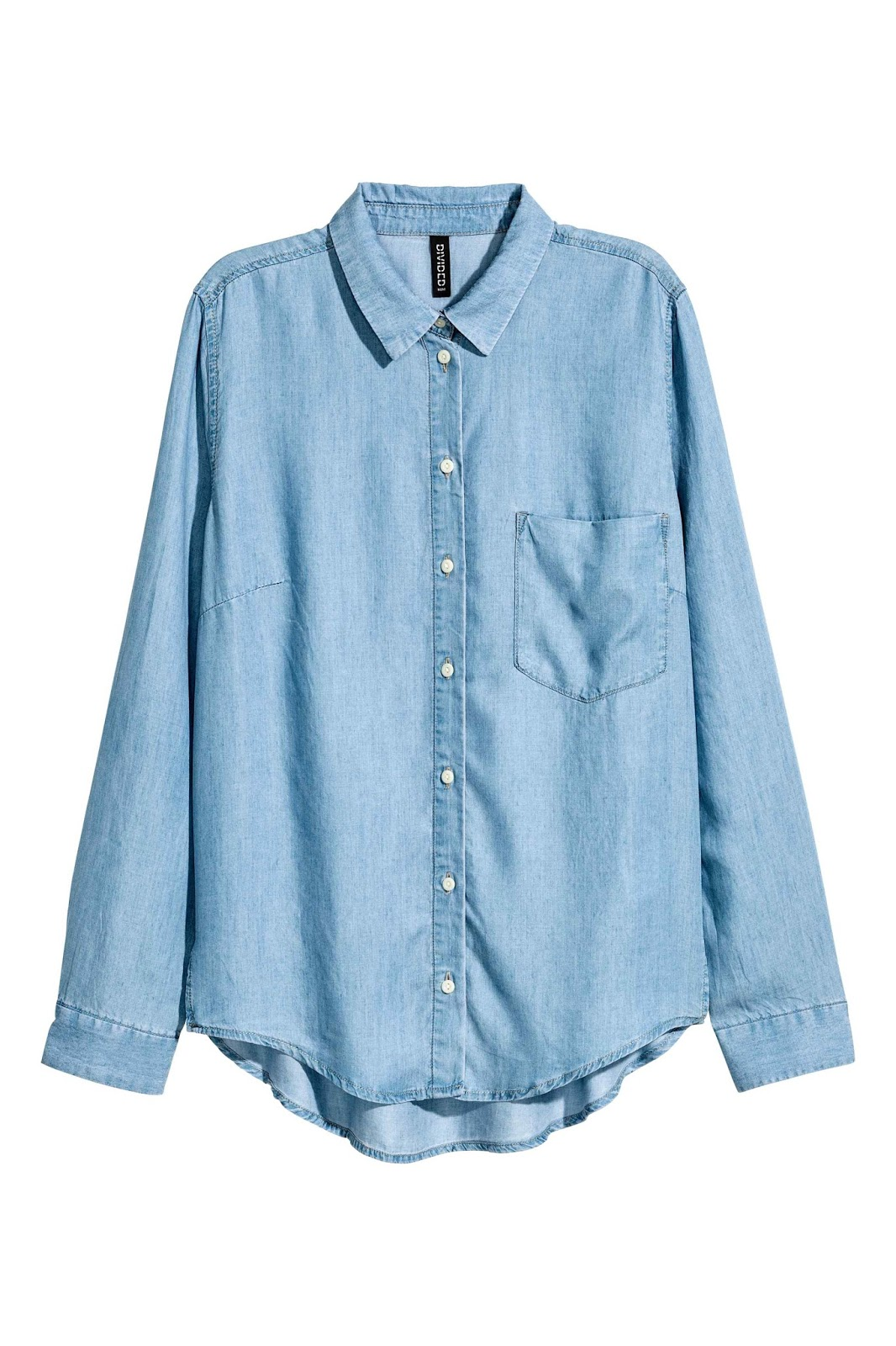denim shirt HM
