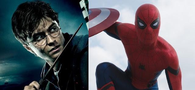 spider-man harry potter