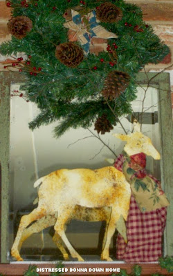 Christmas, Mantel, decorations