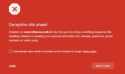 Cara Mengatasi Blog Terdeteksi Phising atau Malware Oleh Google