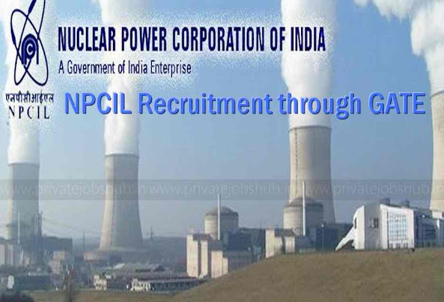 NPCIL Recruitment through GATE