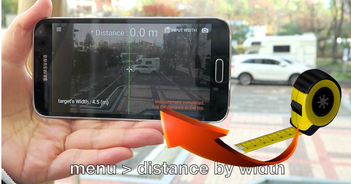 أهم تطبيق اندرويد لقياس المسافات من خلال الكاميرا مجلتك المعمارية