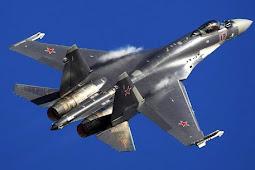 Seru! Kala Su-35 Rusia Kejar-Kejaran dengan F-22 AS di Suriah