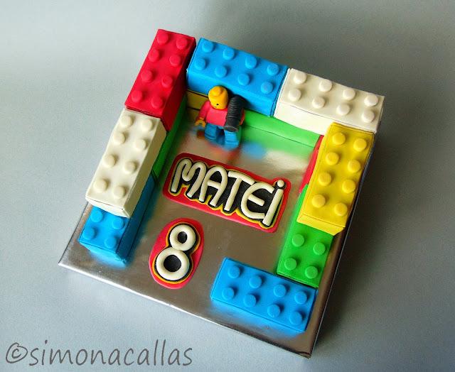Tort Lego Lego Cake 5