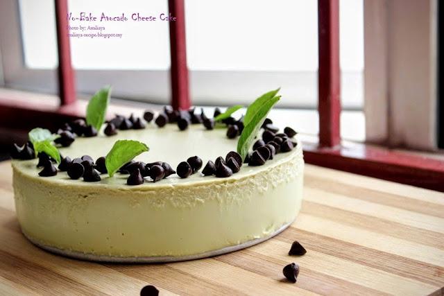 No - Bake Avocado Cheese Cake