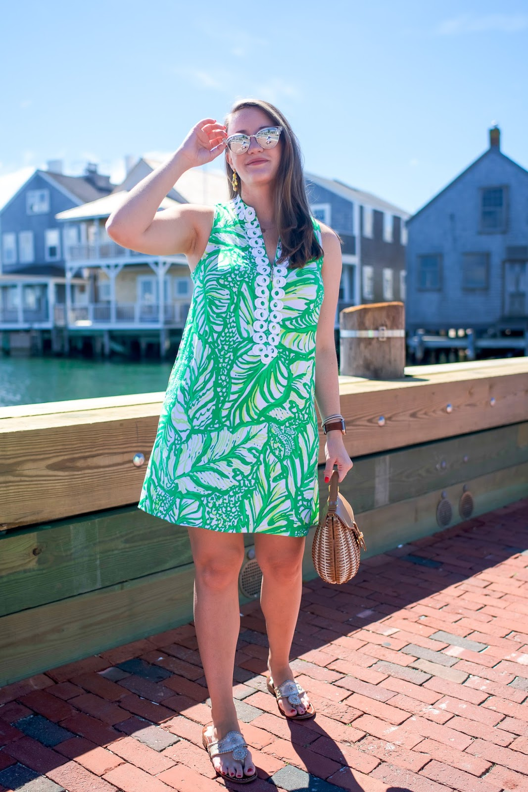b7d84bc3842 Lilly Pulitzer Jane Shift in Nantucket