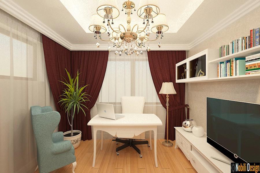 Design interior case vile stil clasic Bucuresti - Amenajari interioare clasic si modern