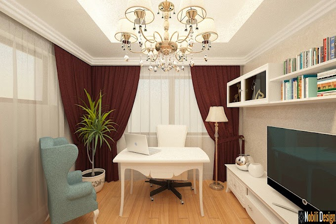 Design interior case vile stil clasic Bucuresti - Amenajari interioare clasic modern