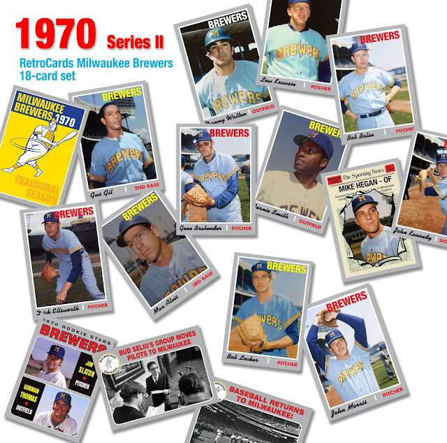 Topps 1970, RetroCards, custom cards that never were, baseball cards