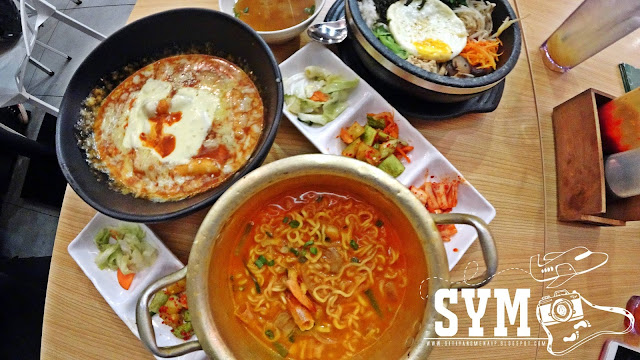 Makanan Korea Sedap di Sooping IOI City Mall