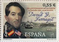150 ANIVERSARIO DE LA VISITA A ESPAÑA DEL ALMIRANTE DAVID G. FARRAGUT