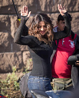 Priyanka Chopra in a Stunning Black Net Top shooting for Quantico 3 ~  Exclusive Galleries 011.jpg
