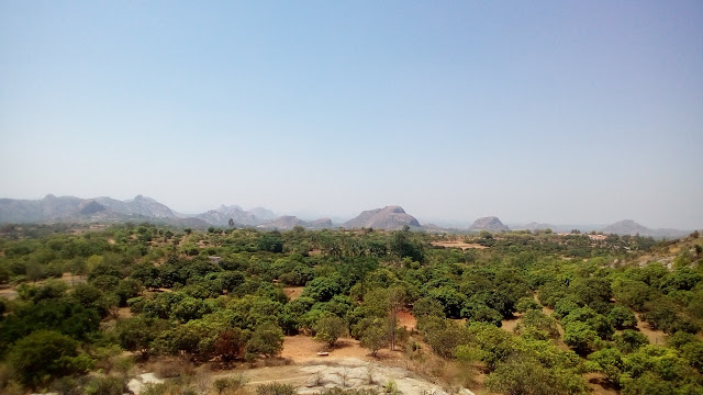 Hills around Ramanagar