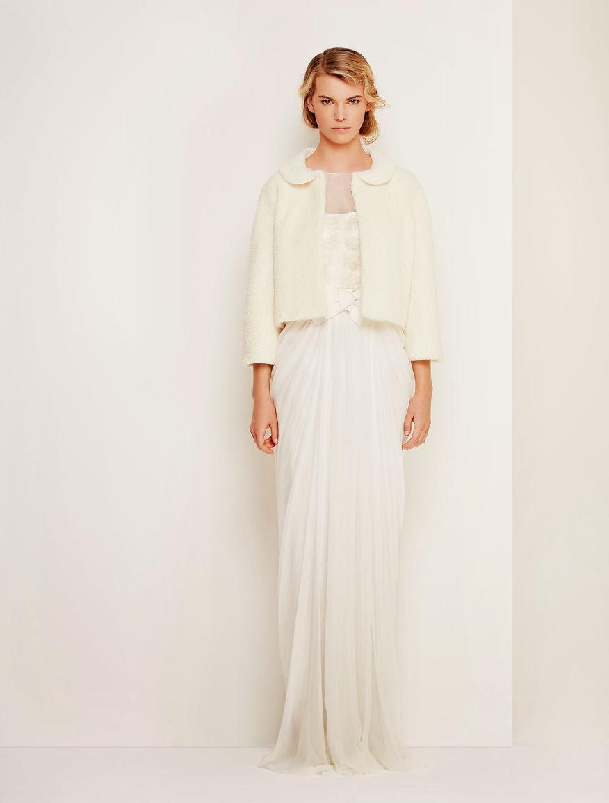 abito da sposa invernale Max Mara 2014