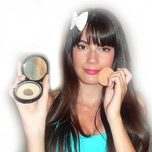 tapar acne maquillaje monika sanchez guapa al instante