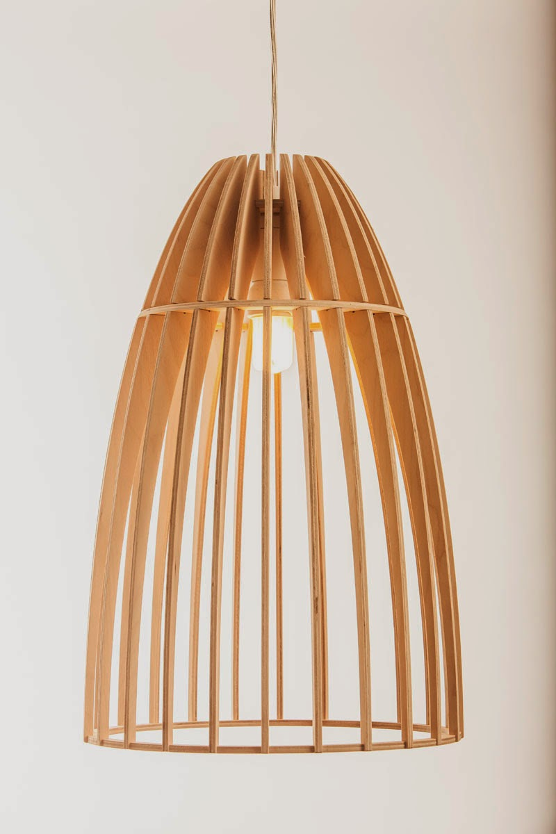Wood & Bamboo Pendant Lights 21