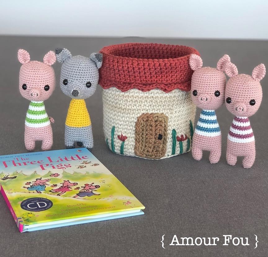 Amigurumi Little Piggy Free Pattern | Ganchillo amigurumi, Patron ... | 827x864