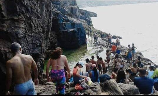 Lago do amor: um perigo real em Arraial do Cabo