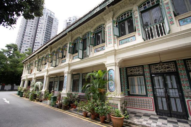 Le shop house (case coloniali) di Petain road-Singapore
