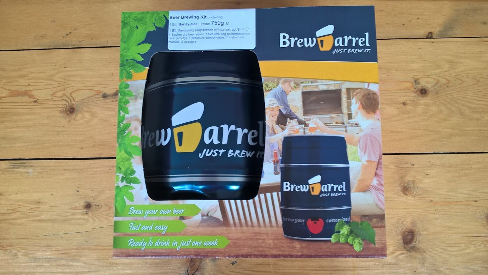 Brewbarrel box - review & giveaway - home brew - motherdistracted.co.uk