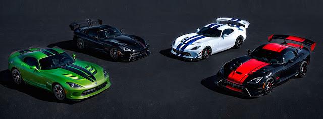 アメリカンスポーツカー「ダッジ・バイパー」が生産終了へ。25年の歴史に幕。