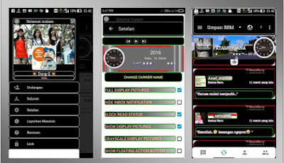 BBM Mod Thema Black Dominan New v2.12.0.11 APK